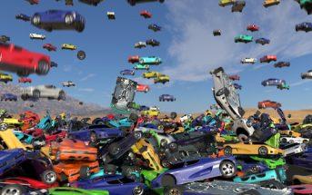 Gökyüzünden yağan arabalar